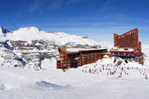 Valle Nevado, Chile base area