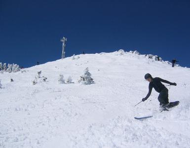 Sugarloaf snowfields