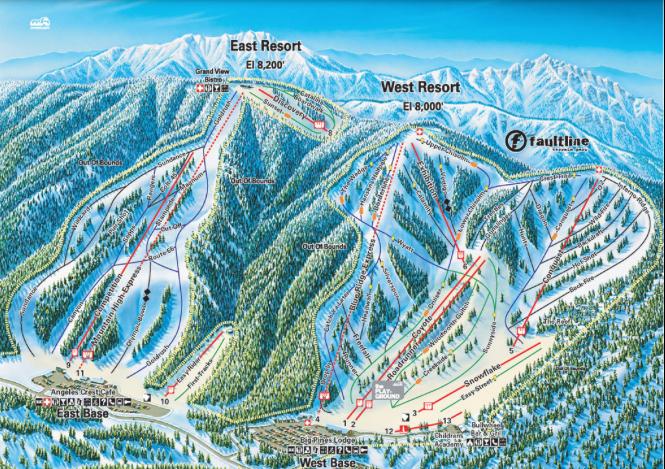 Mounatin High map