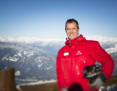 Dave Brownlie, Whistler Blackcomb President and CEO