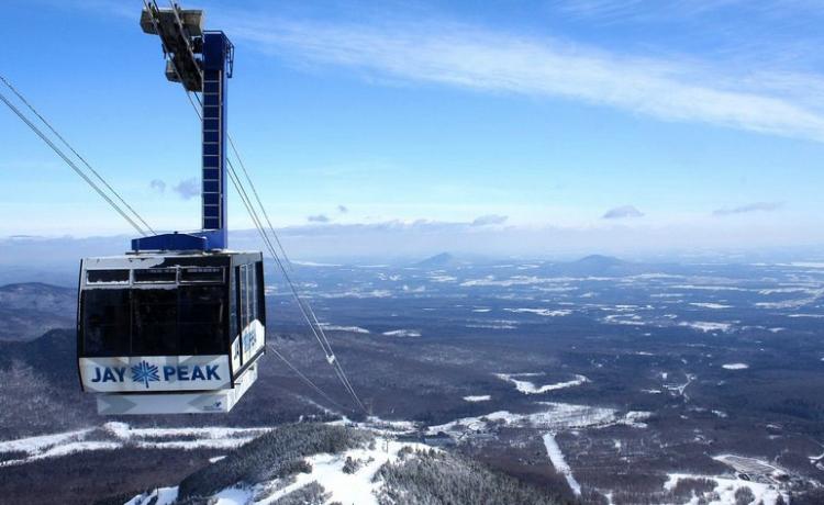 Jay Peak gondola