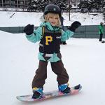 Burton youth snowboarder
