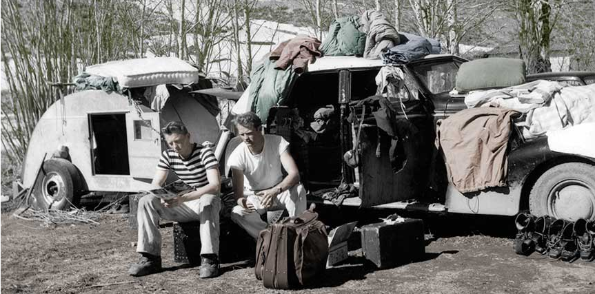Warren Miller spring camping