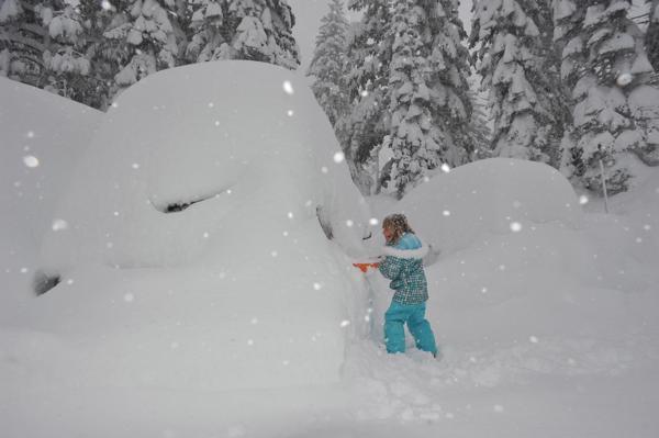 mammoth-snow